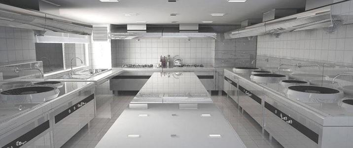 厨房设备应该如何安装布局