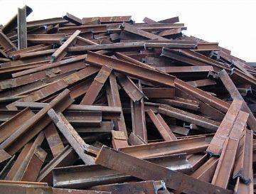 兰州新区废铁回收