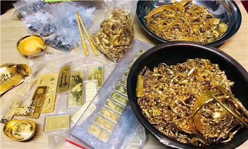 潮南区黄金回收