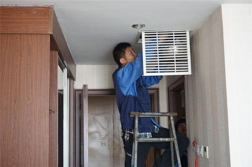 正确选购中央空调安装方便维修