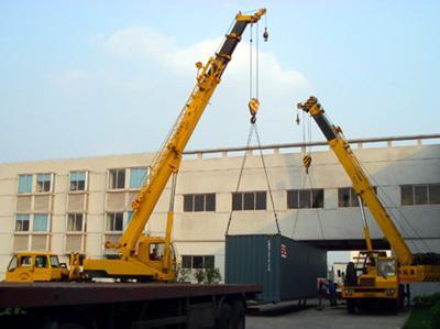 吊车施工程的安全