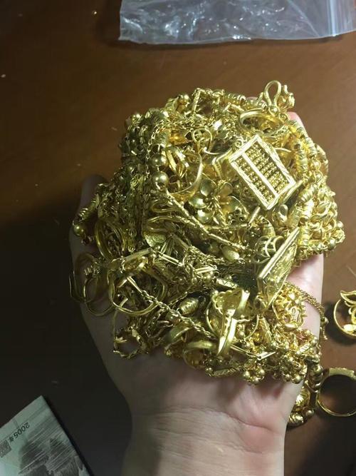 检测各种黄金首饰的含金量