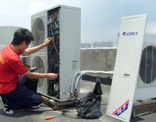空调室外机维修清洗步骤