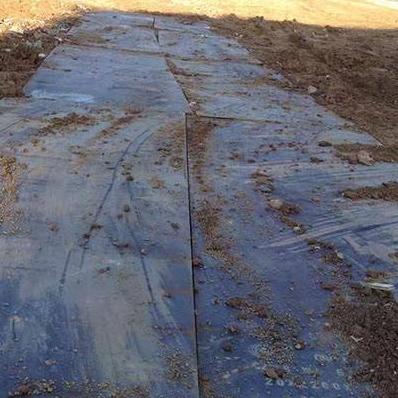 石家庄铺路钢板环保效应