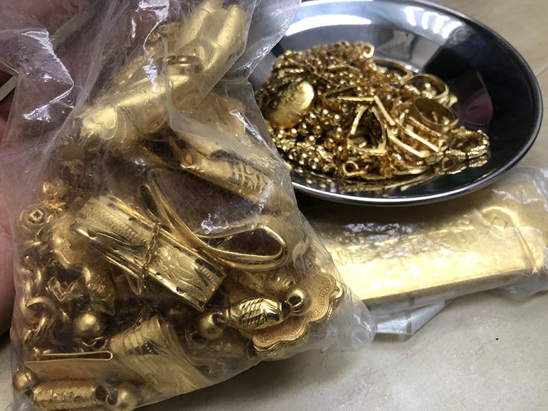 大量回收金银