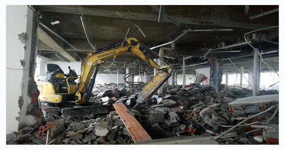 建筑房屋拆除一般施工顺序