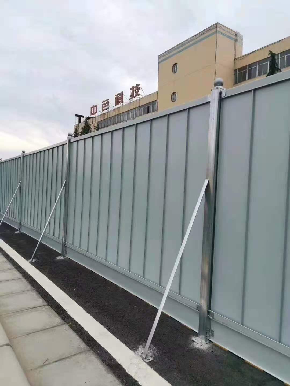 西宁钢结构围挡的优势有哪些?