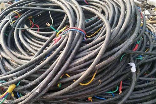 废电缆回收处理方法