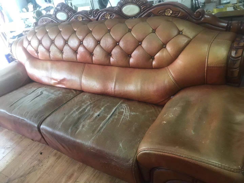 皮沙发翻新要多少钱?