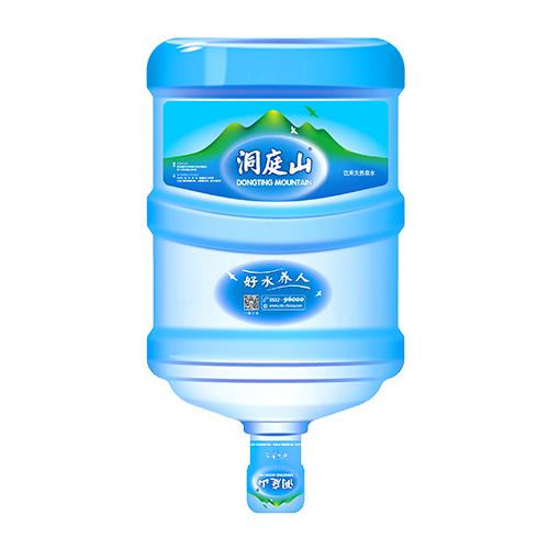 洞庭山天然泉水17L  23元