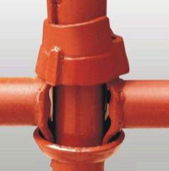在安装搭建脚手架的过程中,施工质量是保障