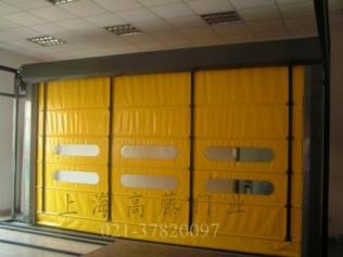 供应堆积式高速门.背带式快速门.柔性快速重叠门