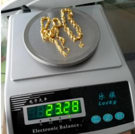 海口黄金回收时的称量工具
